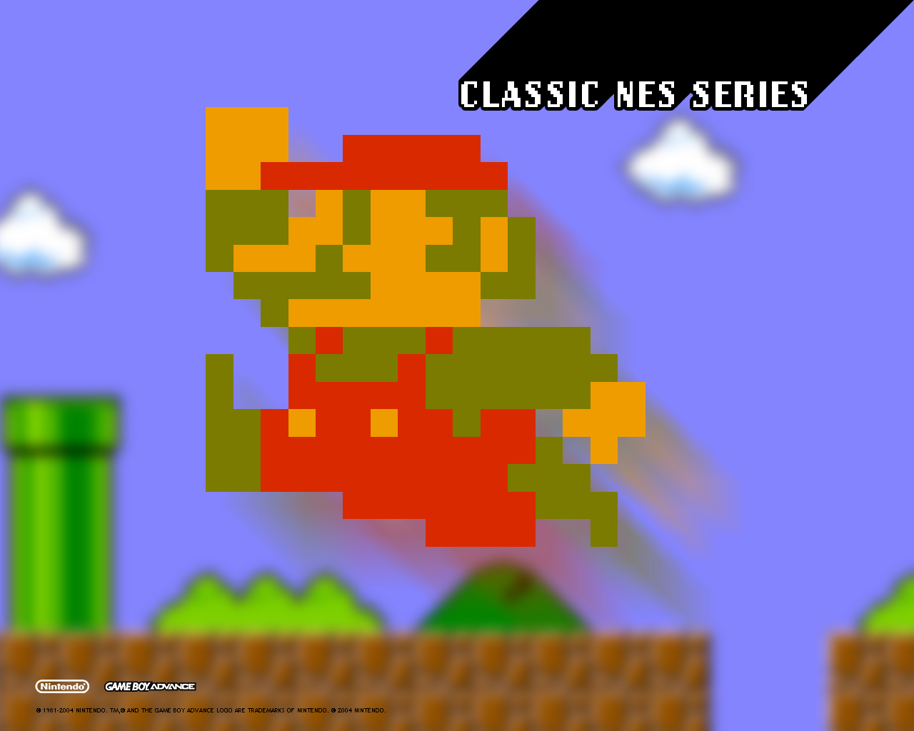 Free Download Images Wallpaper Classic Nes Series Super Mario Bros Gba 1280x1024 For Your Desktop Mobile Tablet Explore 50 Super Mario Bros Nes Wallpaper
