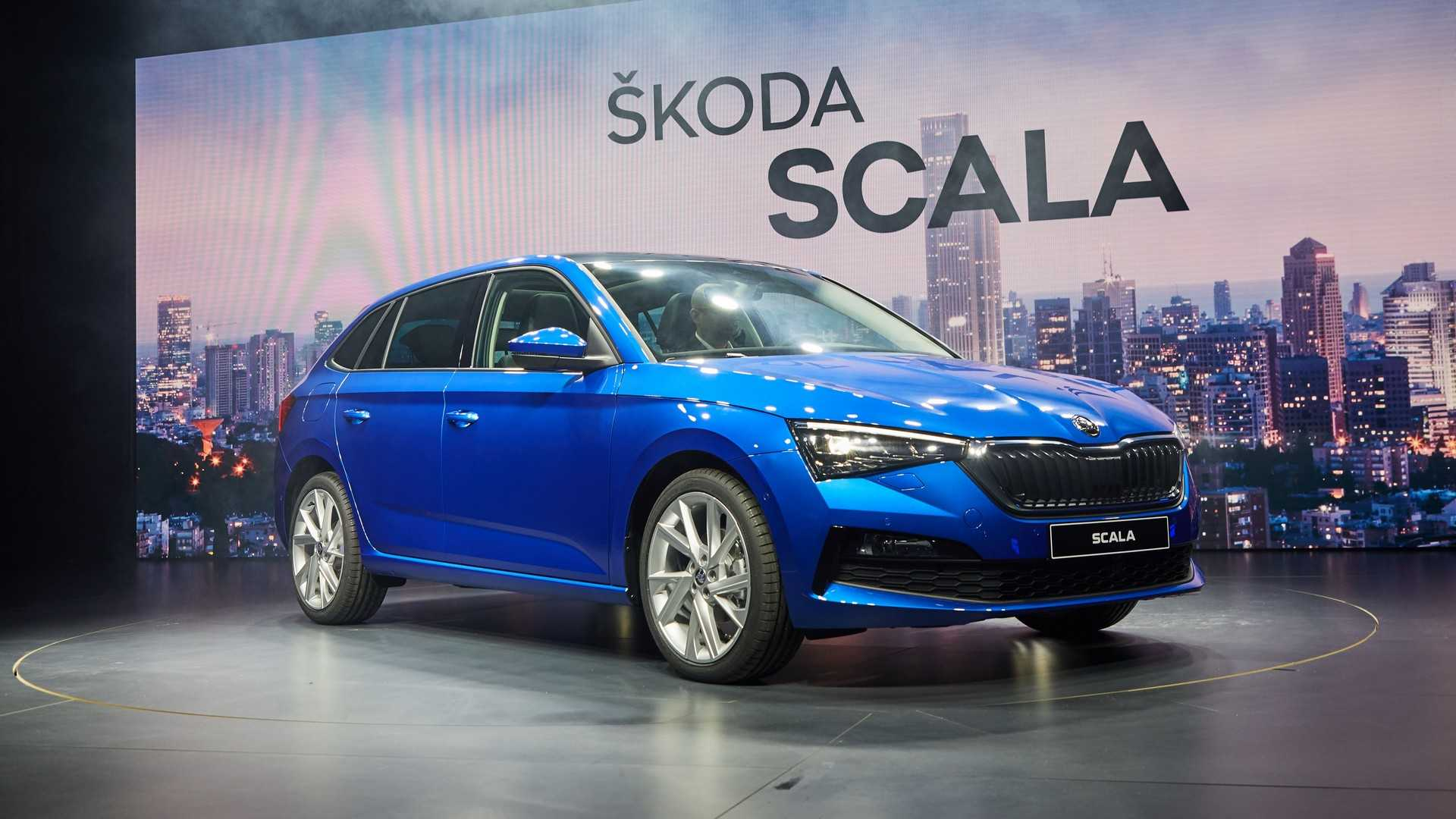 2019 Skoda Scala Revealed To Rival VW Golf And Ford Focus 1920x1080
