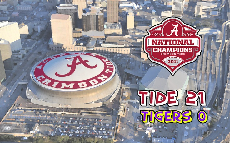 the Alabama Crimson Tide football teams BCS National Championship 736x460