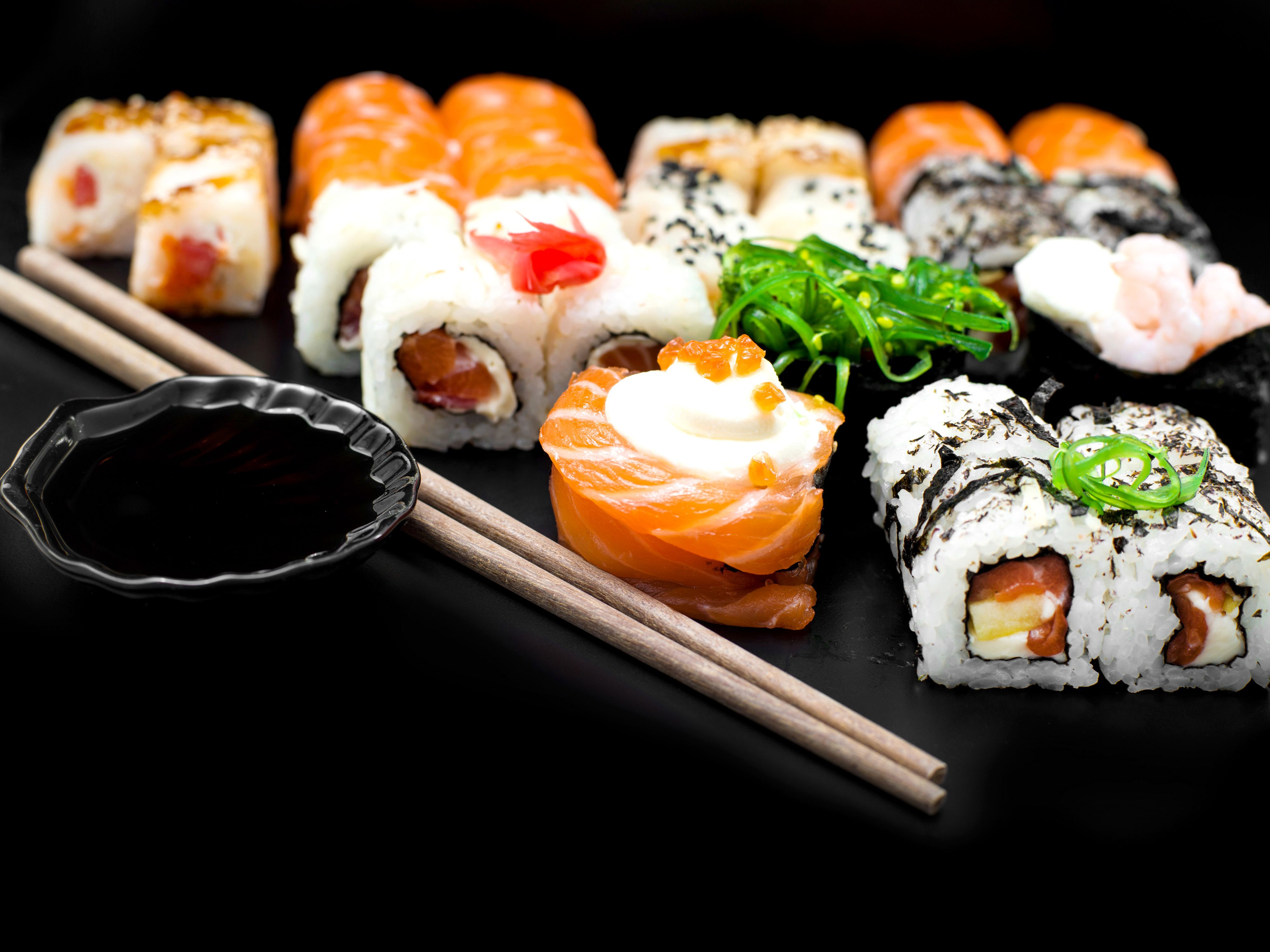 Sushi Wallpapers   Top Sushi Backgrounds   WallpaperAccess 4000x3000
