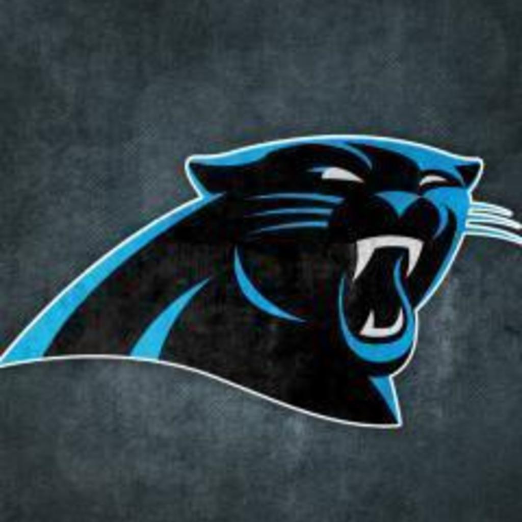 Carolina Panthers Grungy Wallpaper for Apple iPad 1024x1024