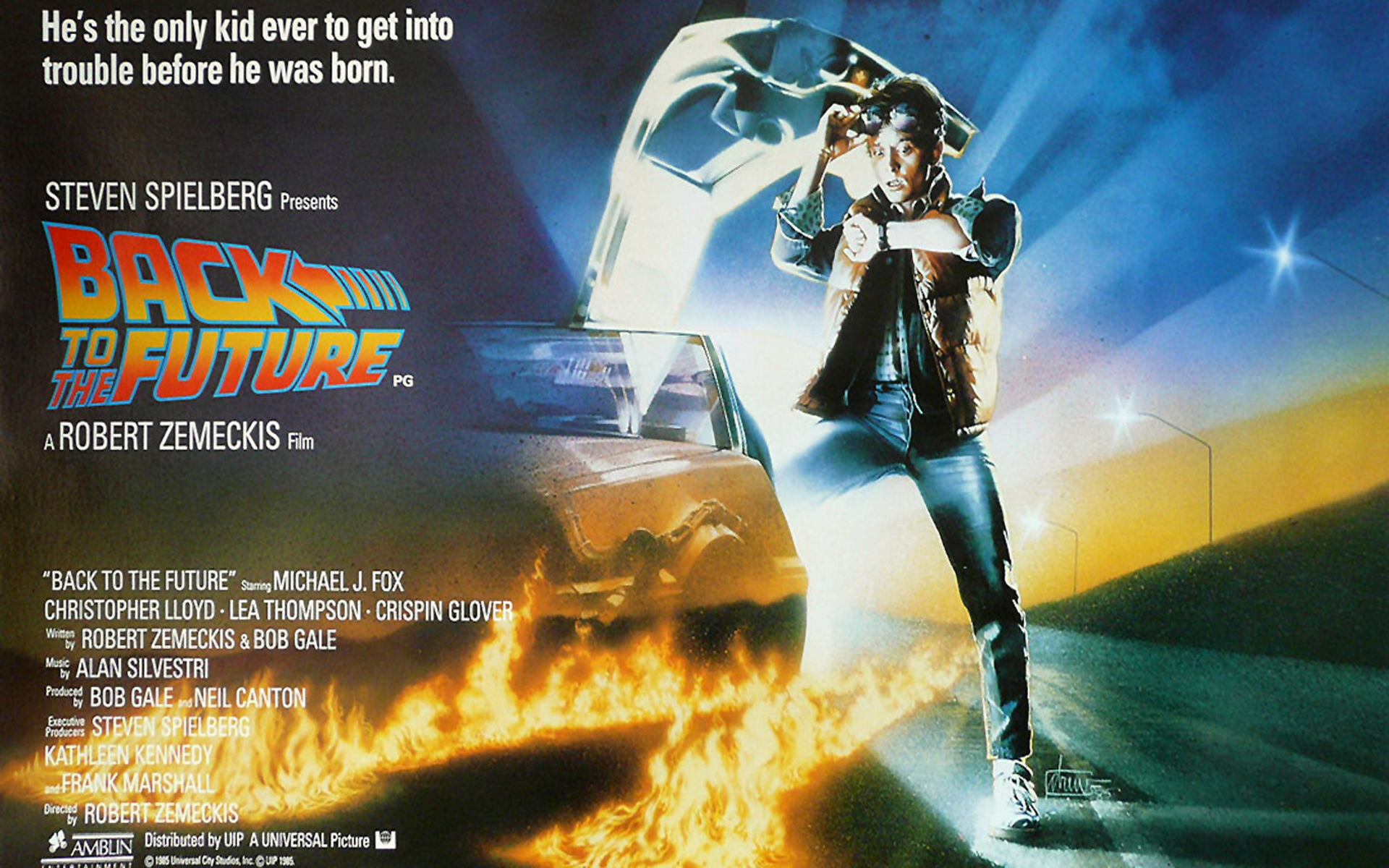 Back to the Future Wallpapers 5 HD Desktop Wallpapers 1920x1200
