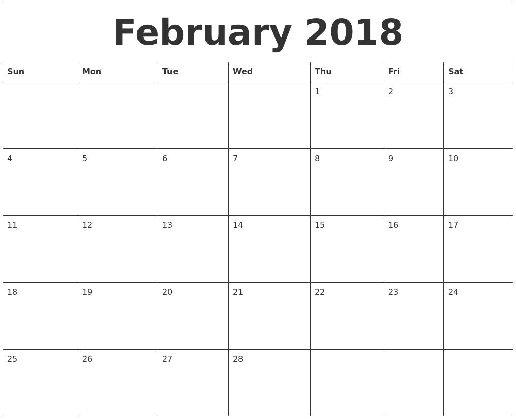 August 2018 Calendar Cute monthly calendar 2017 1017x827