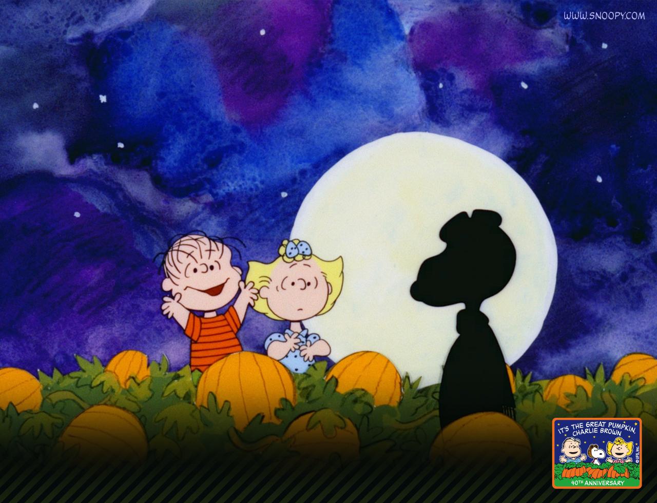 Wallpaper Charlie Brown Thanksgiving Wallpaper Halloween Screensavers 1280x980