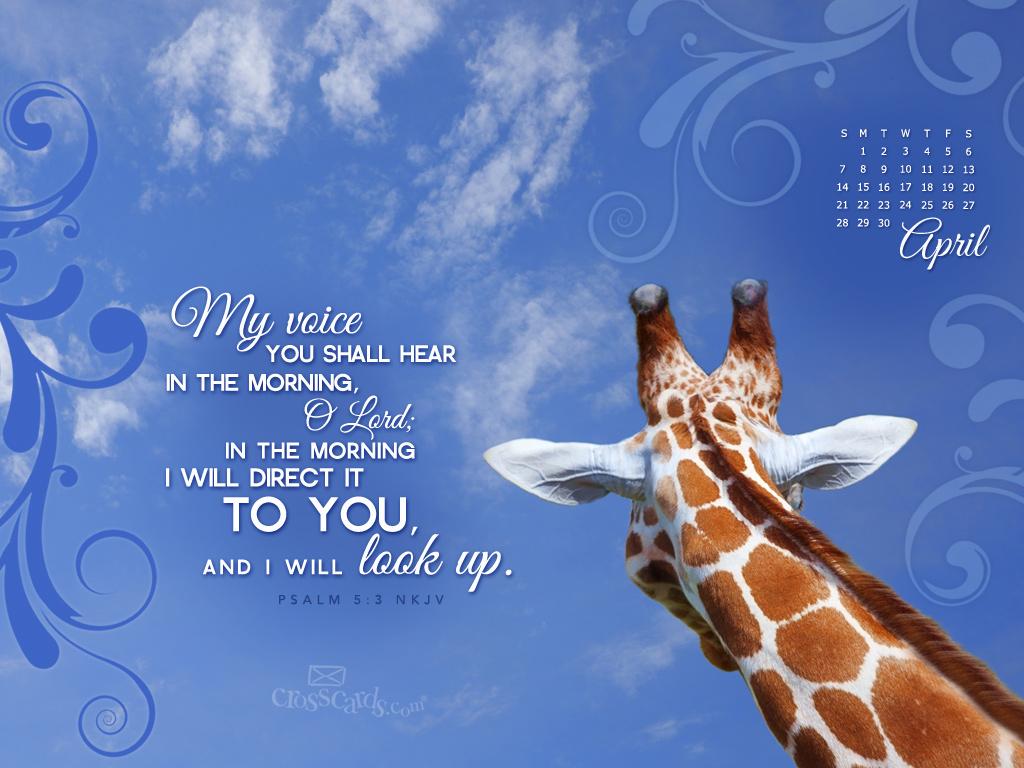 psalm 5 3 nkjv wallpaper download christian april wallpaper 1024x768