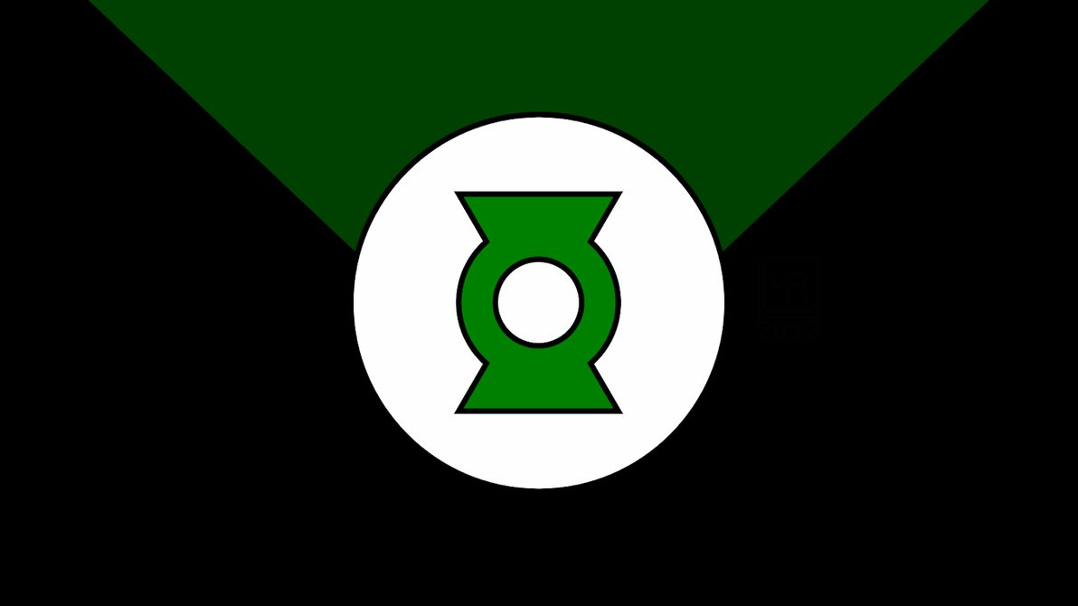 Green Lantern Justice League Unlimited Symbol by MorganRLewis on 1192x670