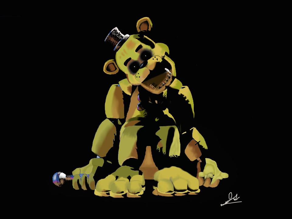 Golden Freddy by Prussianatheart 960x720