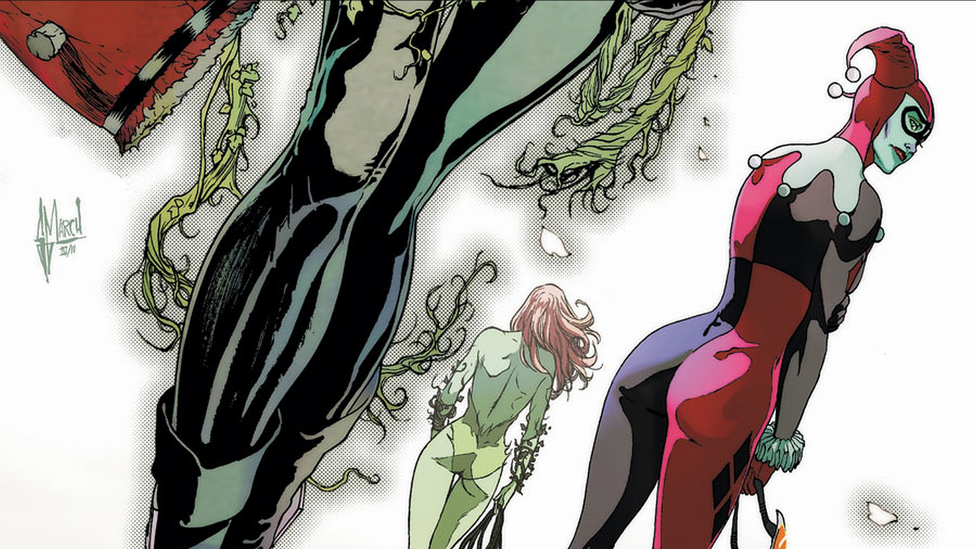 Gotham City Sirens HD Wallpaper Background Image 1920x1080 1920x1080