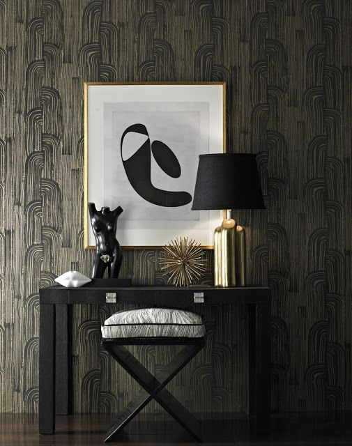 little something Fab for an entry way Lee Jofa wallpaper 505x640