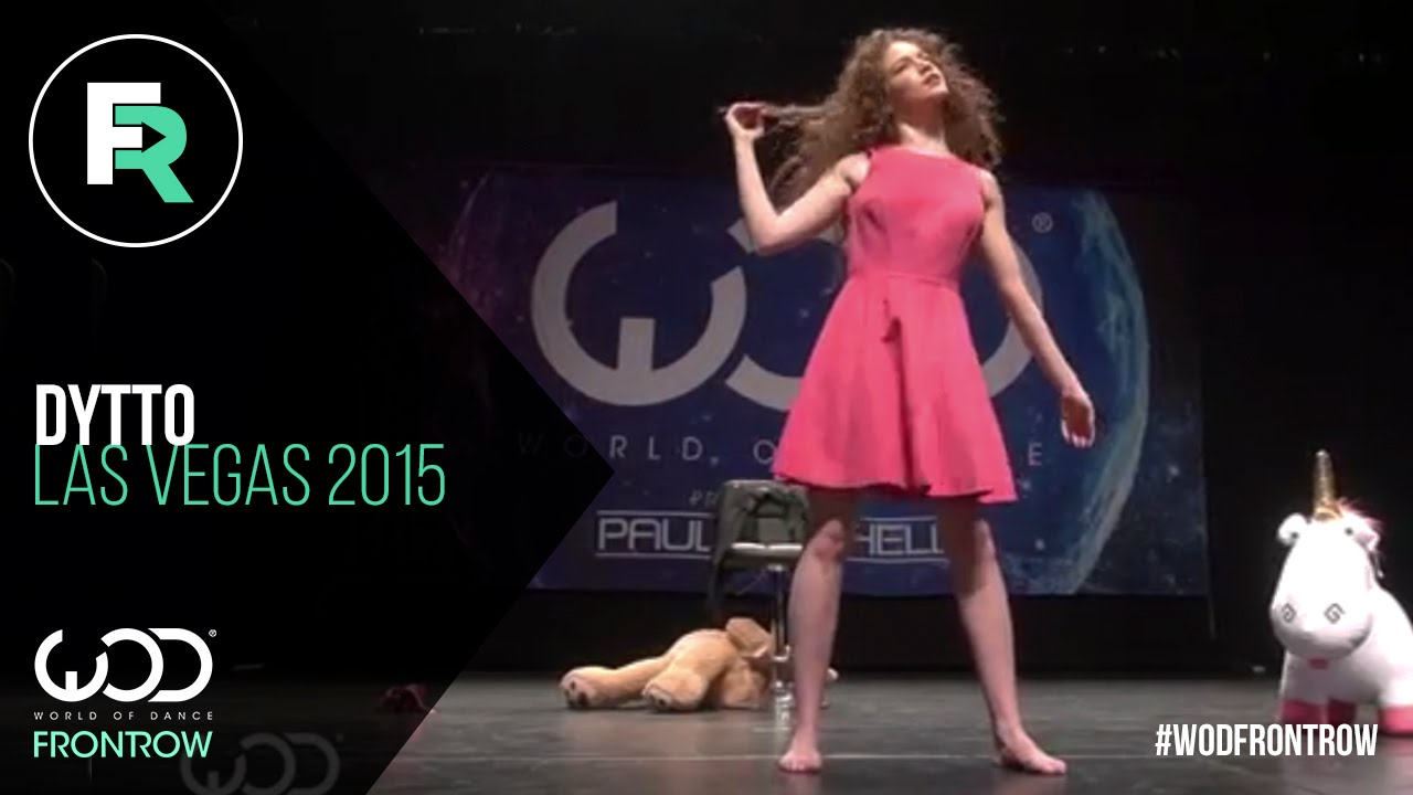 Dytto FRONTROW World of Dance Las Vegas 2015 WODVEGAS15 1280x720