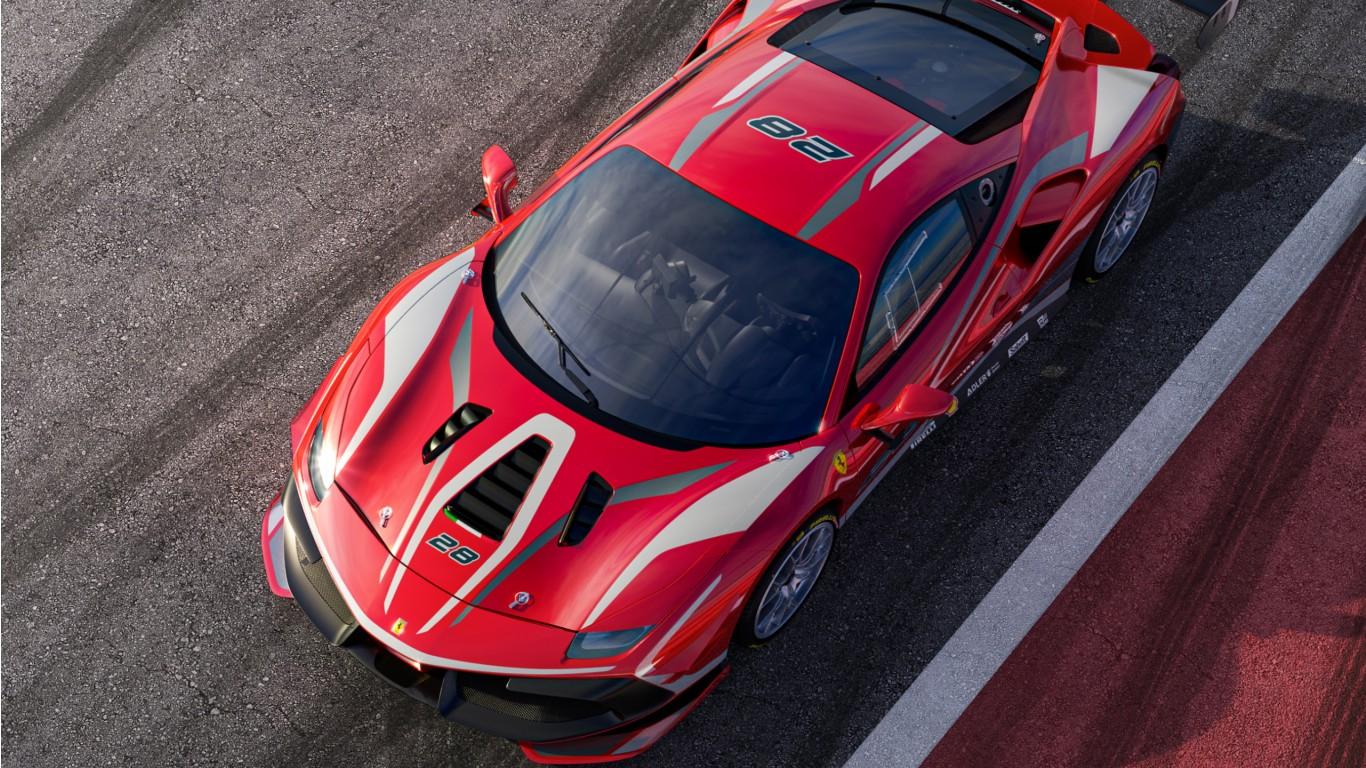 Ferrari 488 Challenge Evo 2020 Wallpaper HD Car Wallpapers ID 1366x768