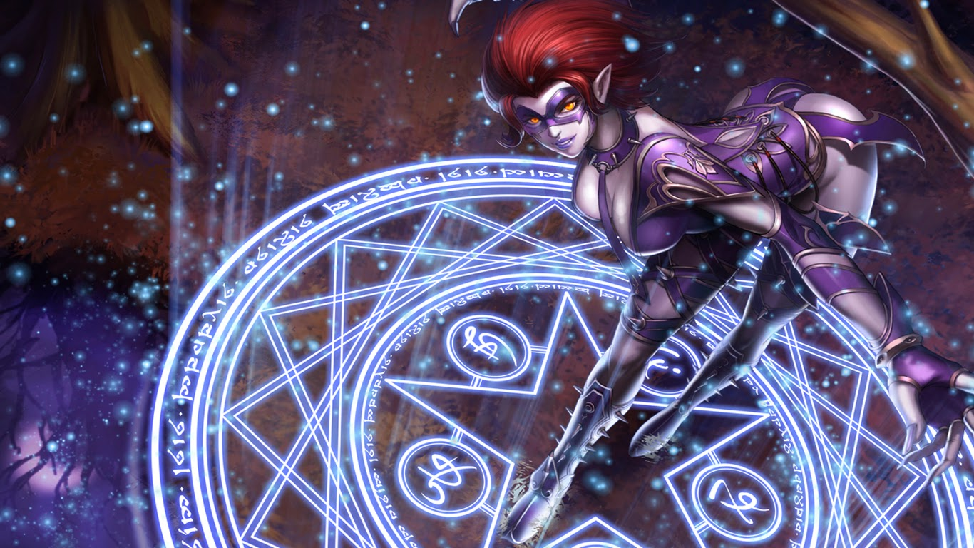 Free Download Evelynn League Of Legends Sexy Girl Lol Hd Wallpaper