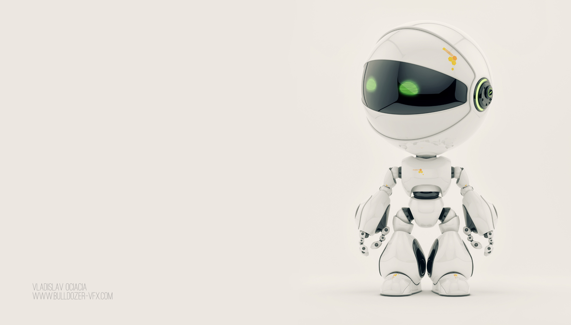 Cute Robot HD Wallpapers 15441   Amazing Wallpaperz 1920x1092