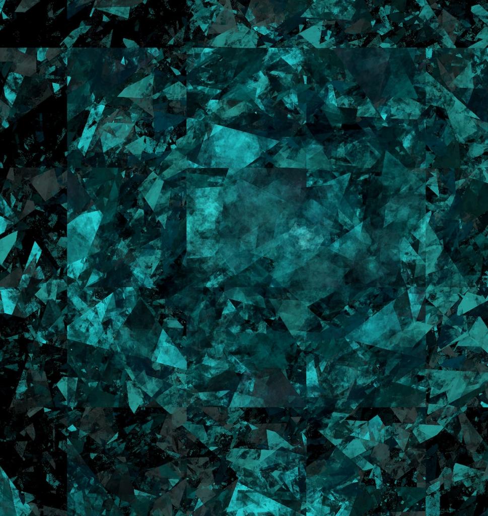 Glass Wallpaper: Teal Background Wallpaper