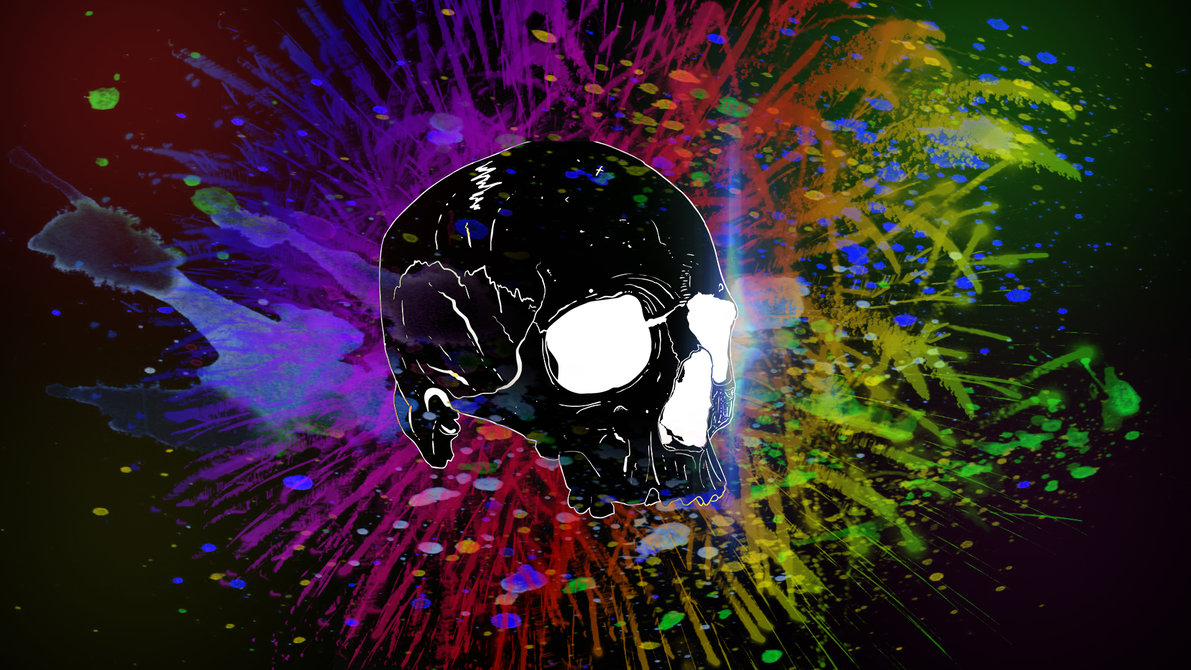 Skull Wallpaper by Lembi203 1191x670
