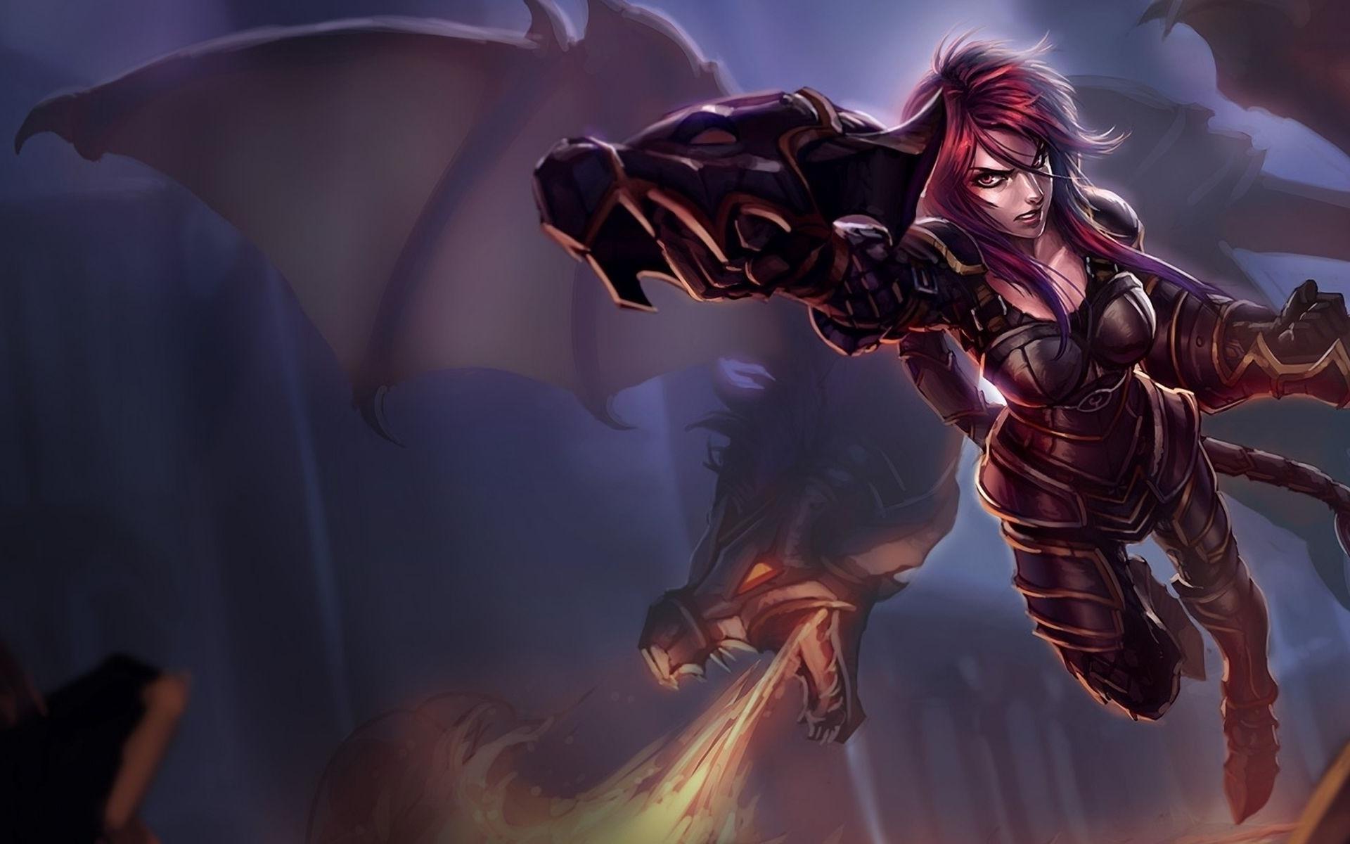 Ironscale Shyvana   League of Legends Wallpapers 1920x1200