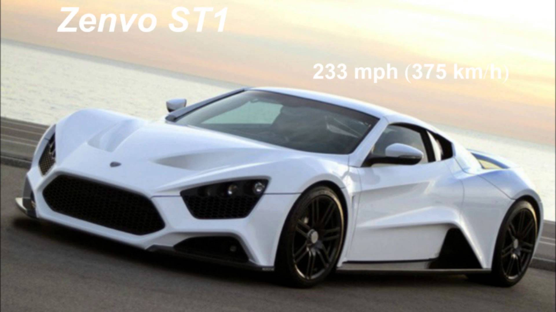 The 10 fastest cars in the world 20152016 1920x1080