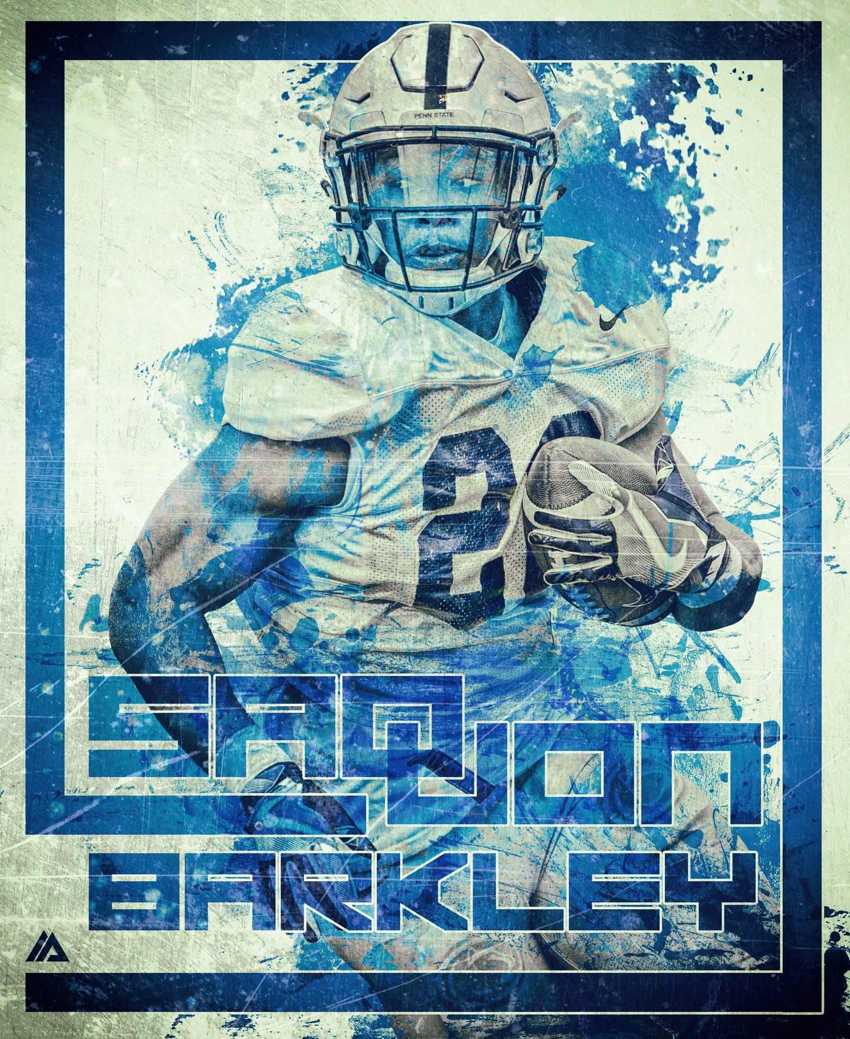 pbj on Twitter Saquon Barkley   RB   Penn State 1676x2048