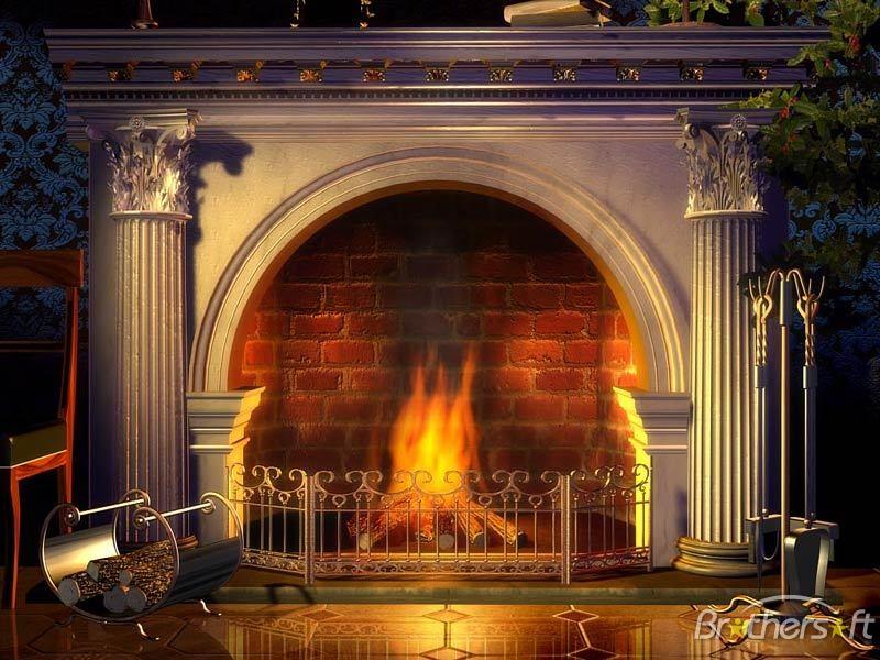 Fireplace Screensaver Relaxing Fireplace Screensaver 13 Download 800x600