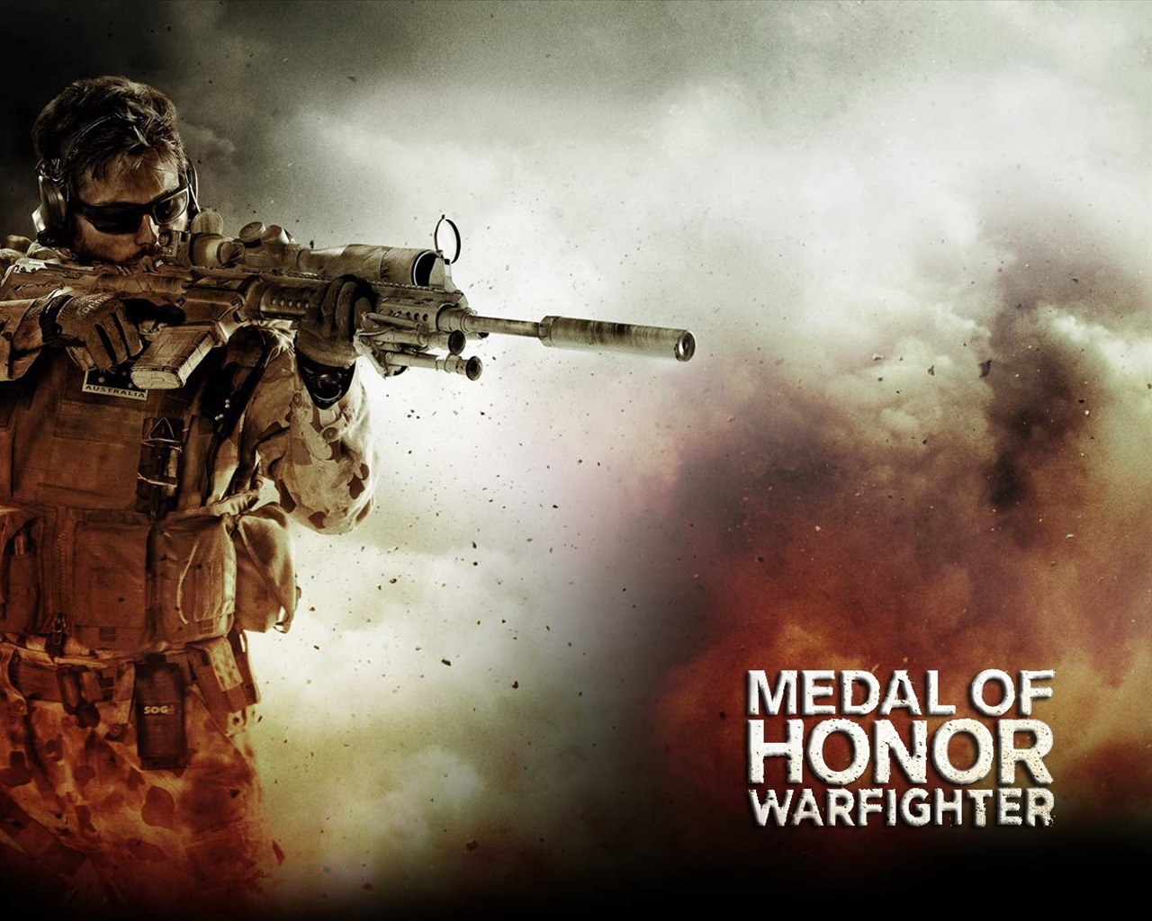 Free Download Medal Of Honor Warfighter Game Hd Wallpaper 04