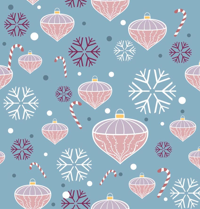 Christmas Pattern Wallpaper Christmas decoration pattern 850x891