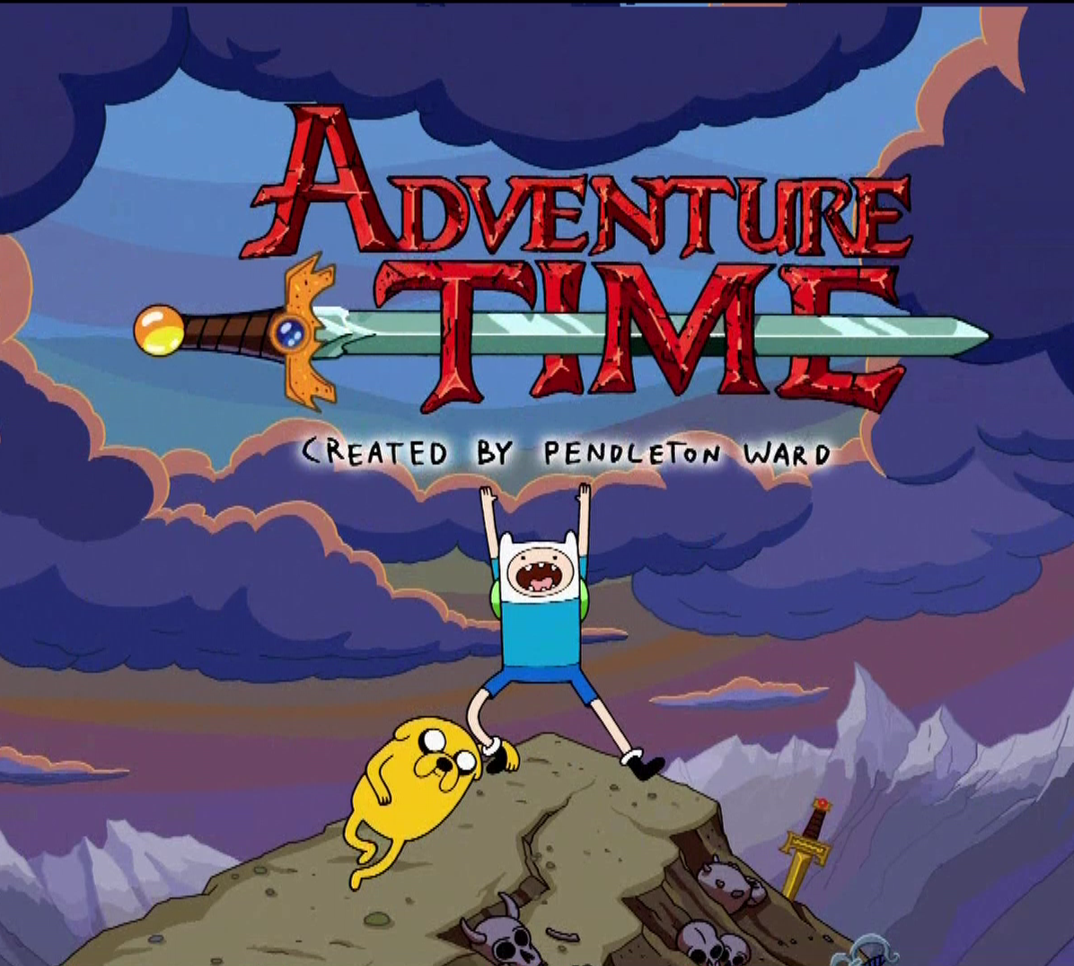 Adventure Time Cover Art Wallpaper for Phones and Tablets 1196x1076