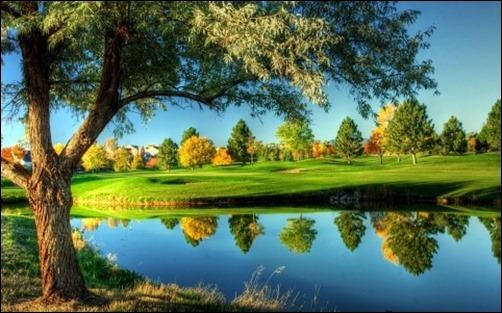 Golf Course Landscape high resolution wallpaper 502x313