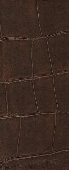 IEAB VP423 11 faux croc leather wallpaper brown More 236x577