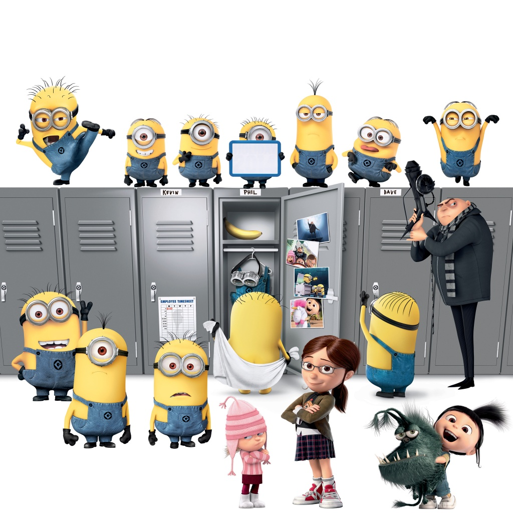 Despicable Me 2 Movie HD Wallpaper   iHD Wallpapers 1024x1024