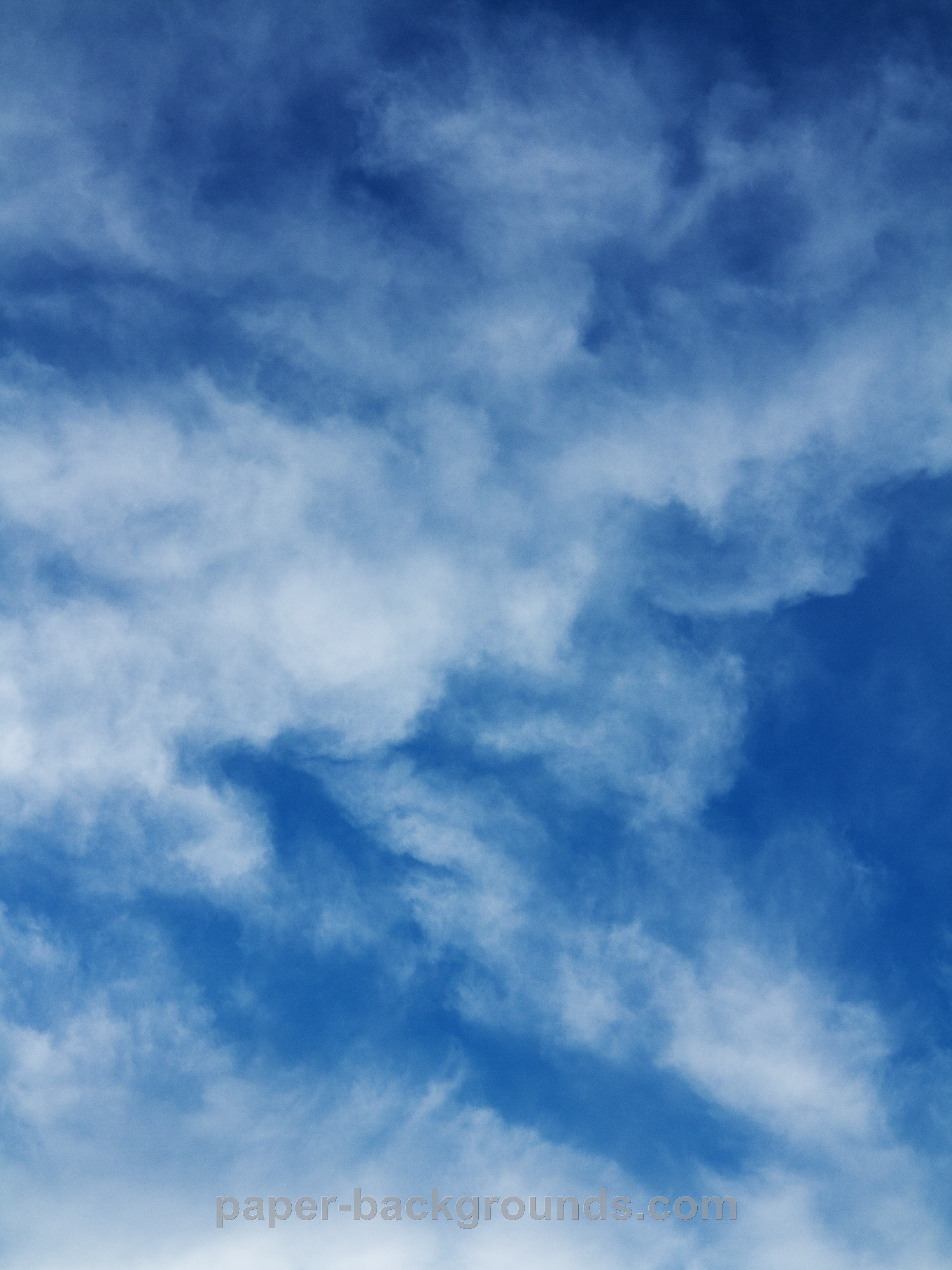 blue sky clouds texture background Paper Backgrounds 3264x4352