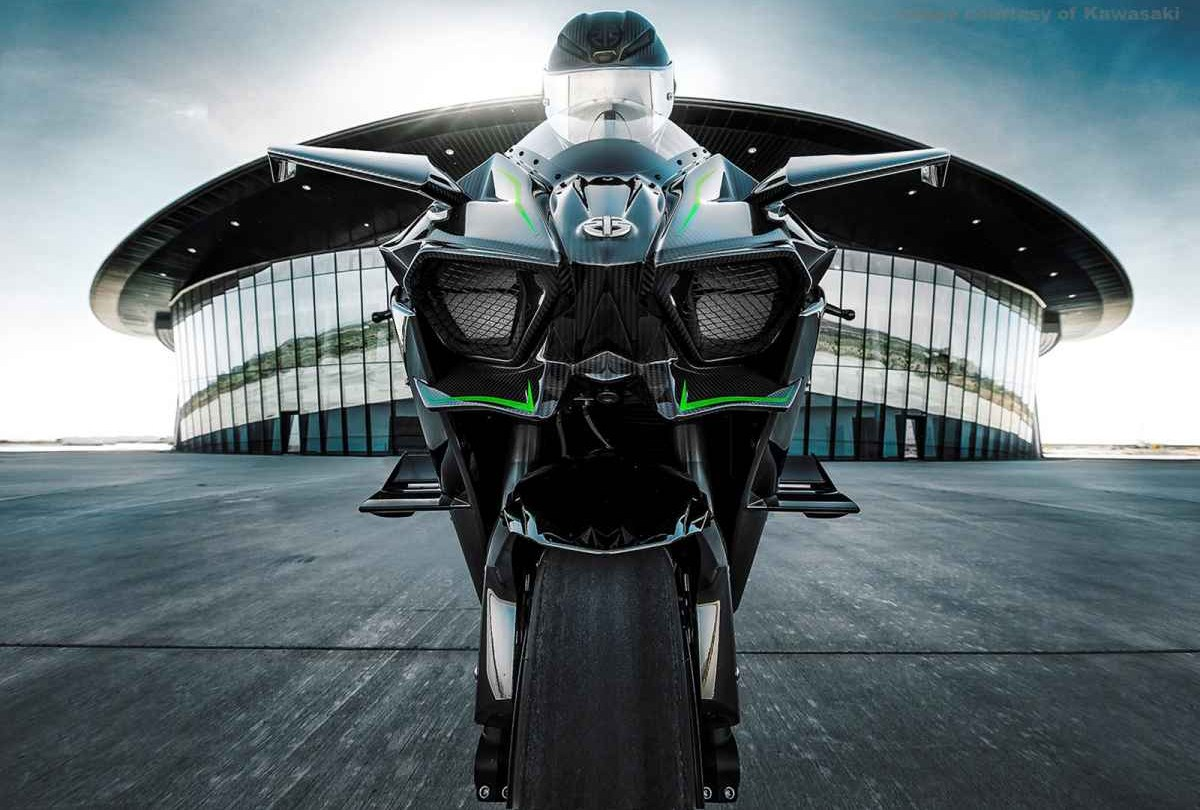 Kawasaki Ninja H2r >> Kawasaki Ninja H2R Wallpaper - WallpaperSafari