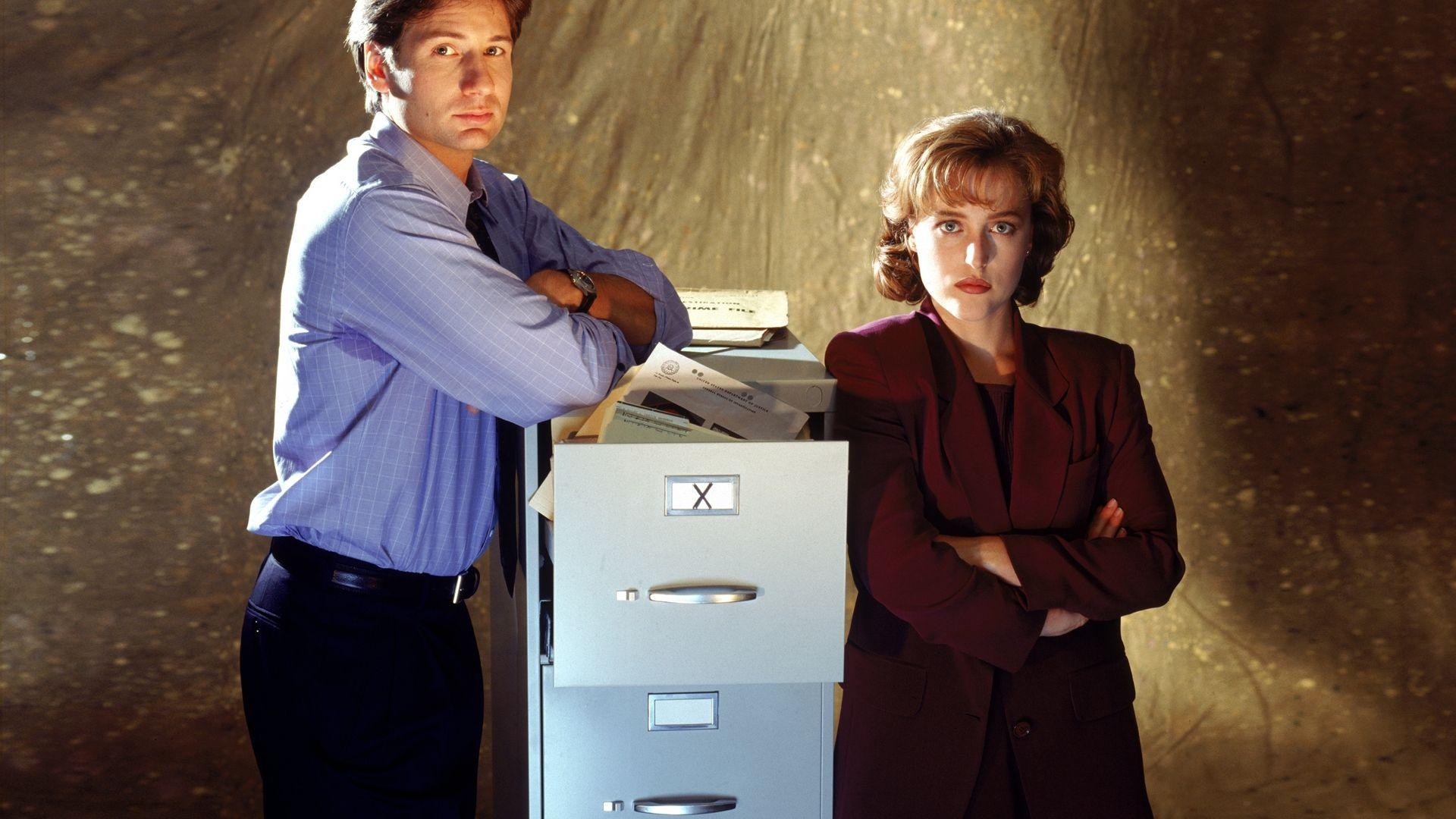 Fox Mulder And Dana Scully wallpaper X Files Scully Dana 1920x1080
