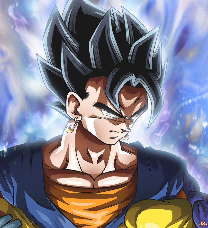 Vegetto Ultra Instinct Zoomed by Maniaxoi 855x935