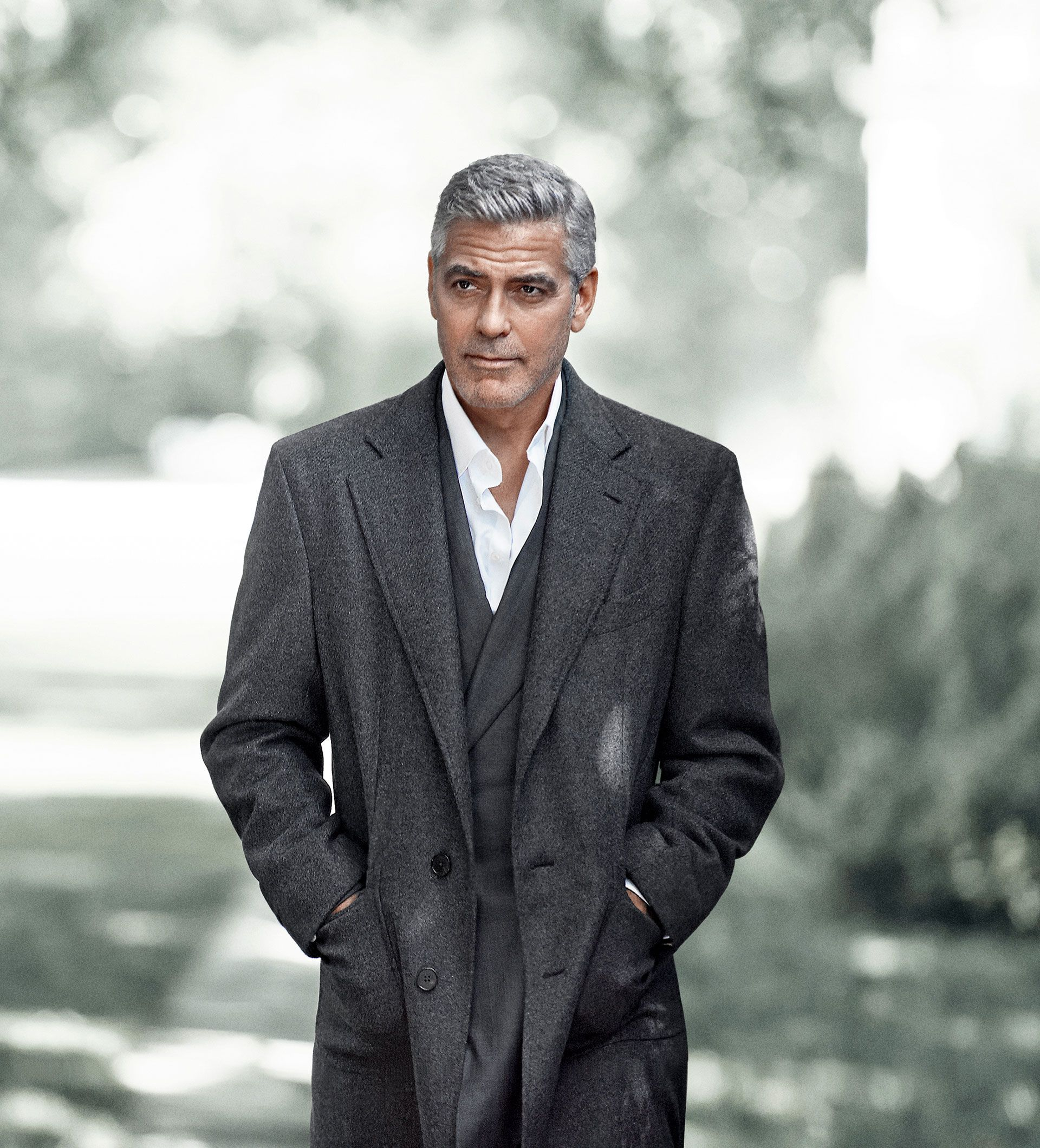 george clooney gq   Google Search Visage Business casual men 1920x2120