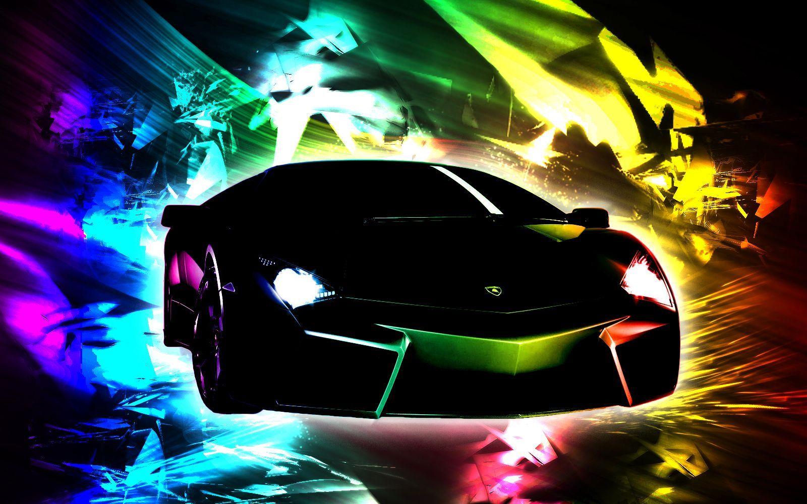 21 Rainbow Lamborghini Wallpapers On Wallpapersafari