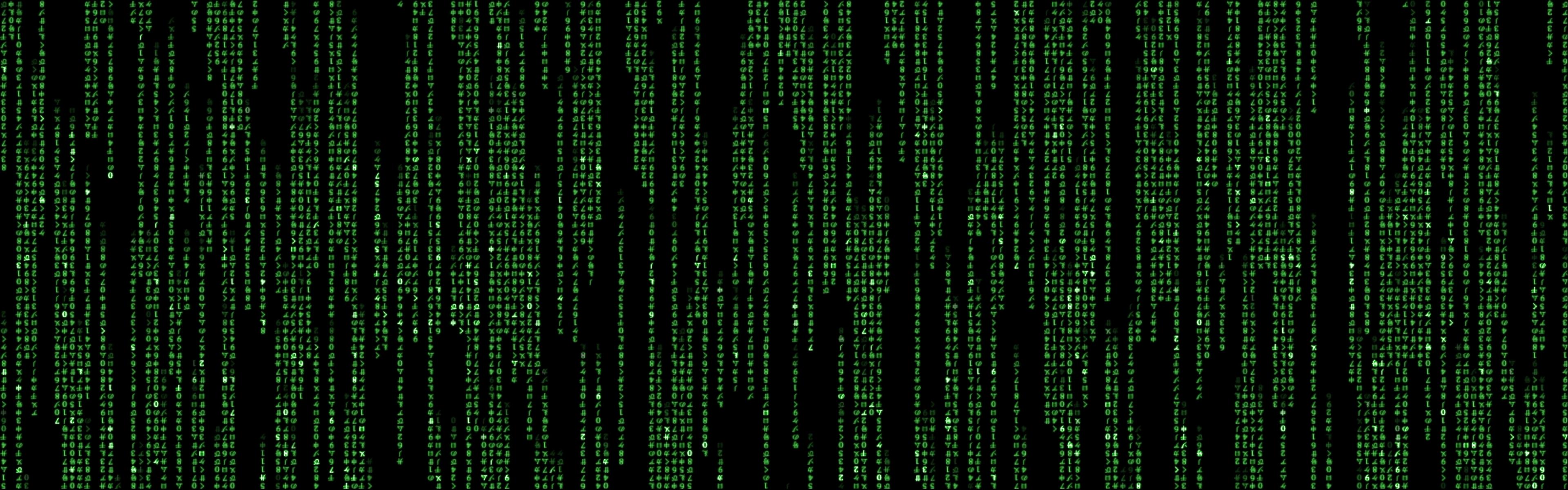 matrix code hollywood 2880x900 wallpaper Entertainment HD Wallpaper 3840x1200