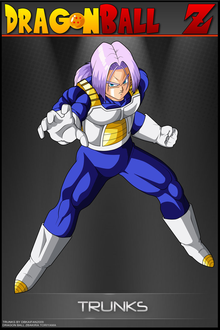 Dragon Ball Z Trunks Wallpaper - WallpaperSafari
