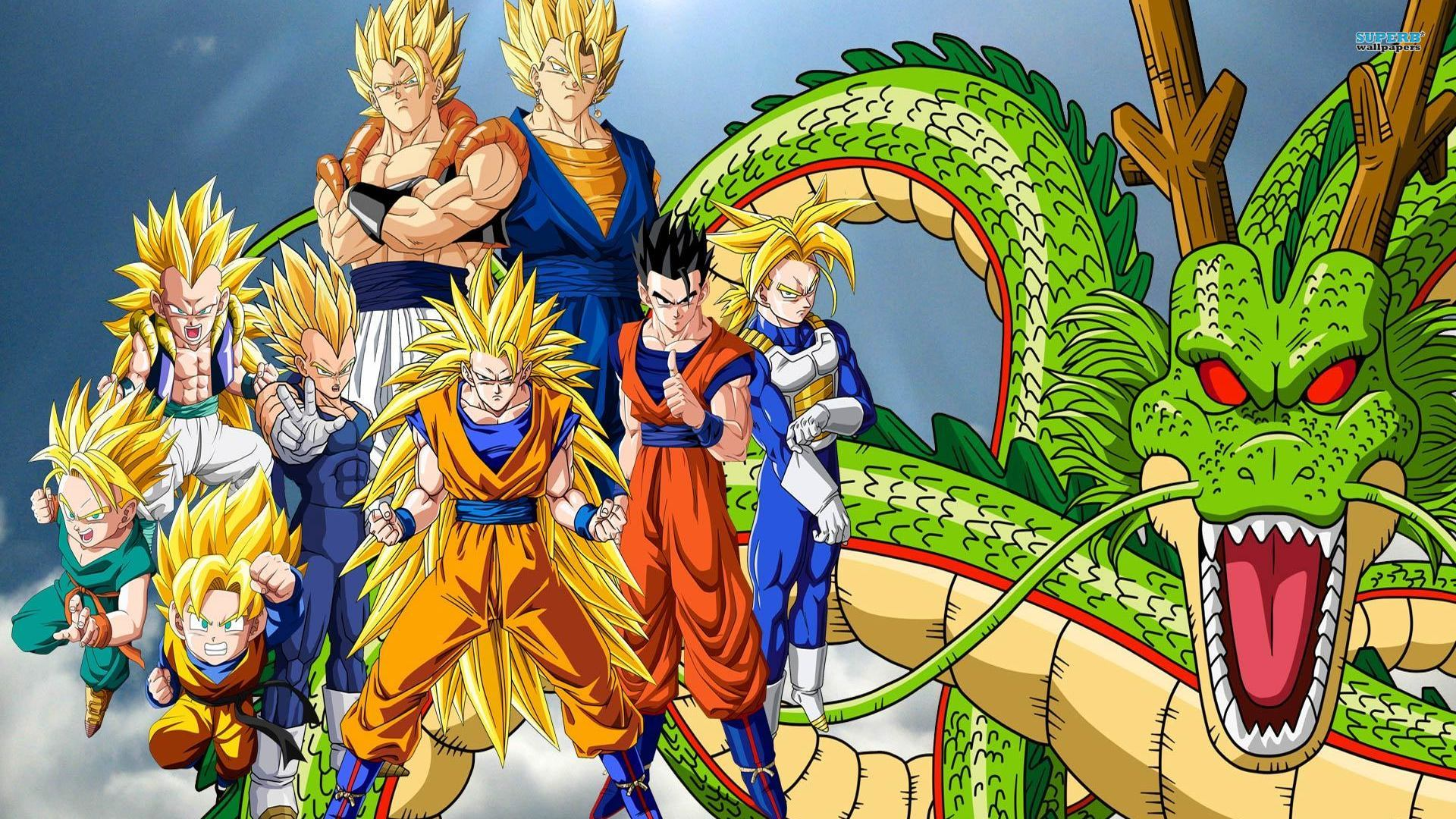 Dragon Ball Z Wallpaper 1920x1080 - WallpaperSafari