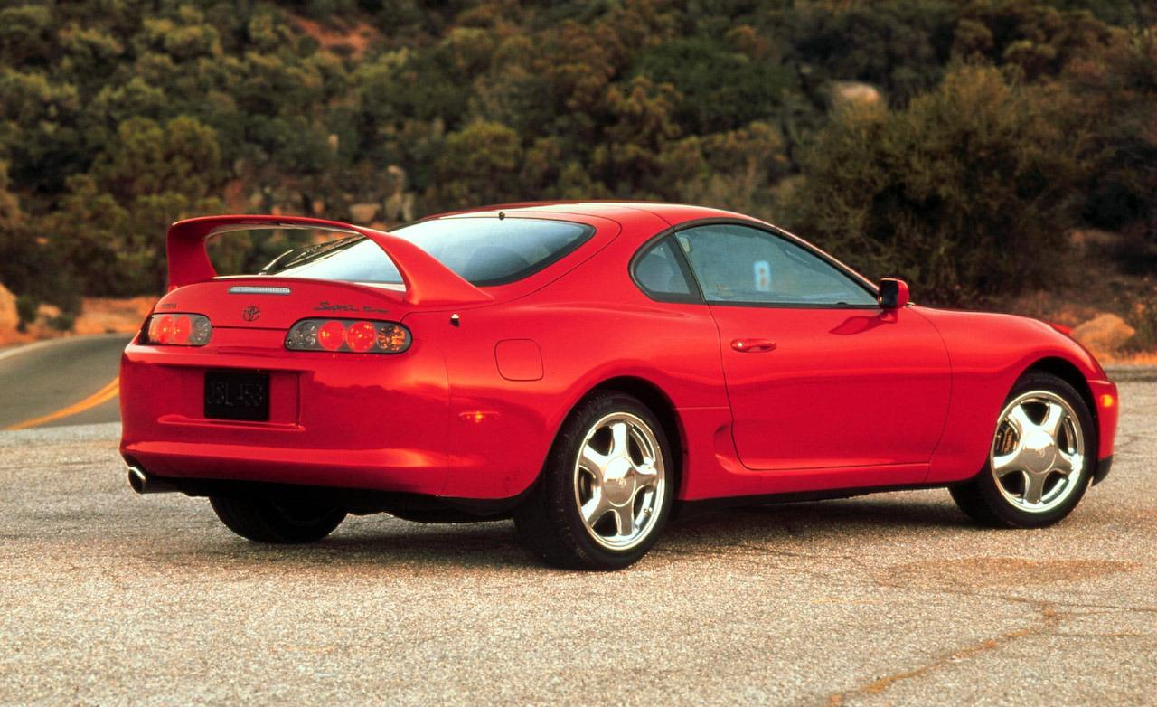 1998 Toyota Supra Turbo 1280x782