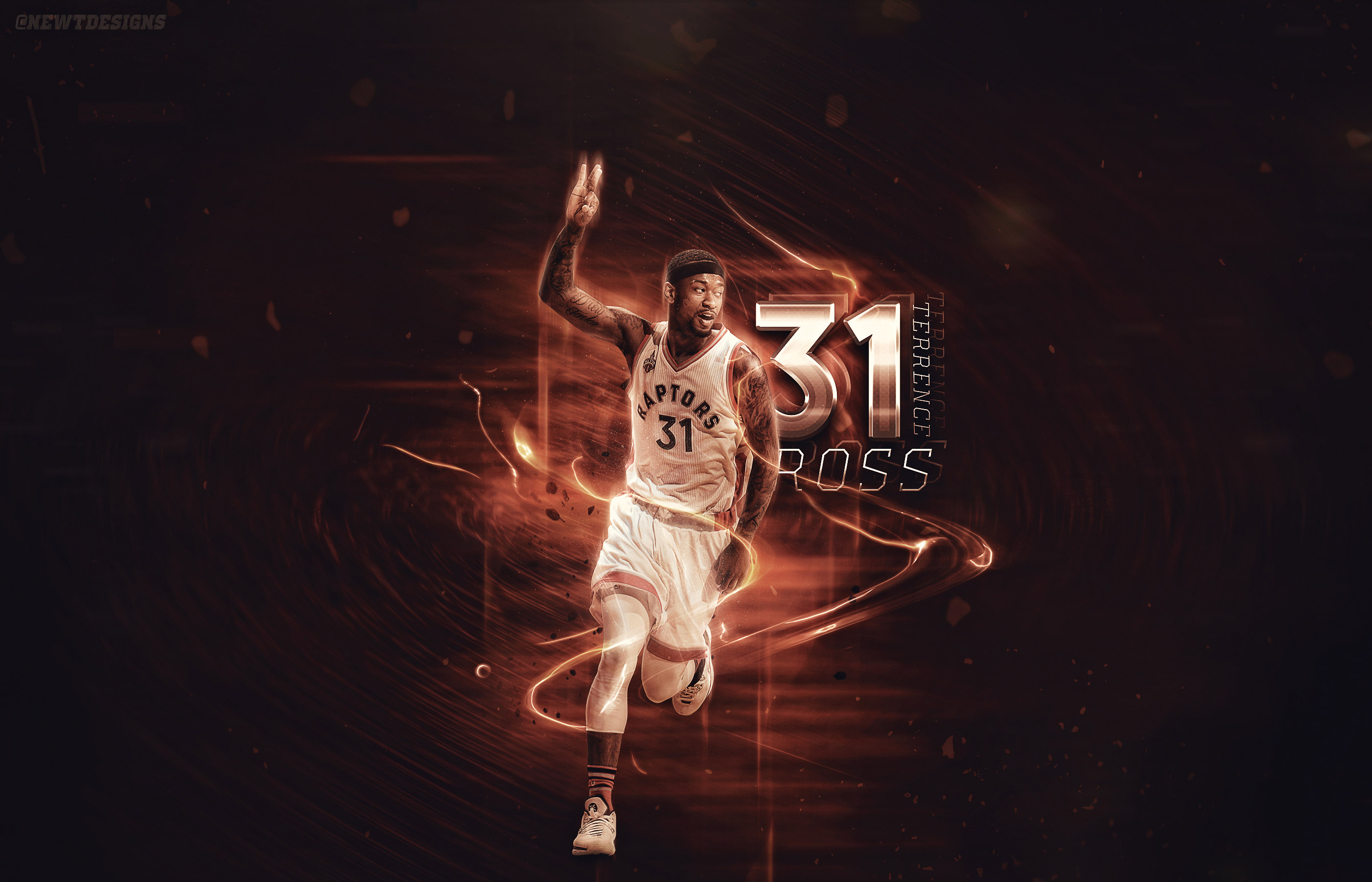Terrence Ross Toronto Raptors 2016 Wallpaper Basketball Wallpapers 2800x1800