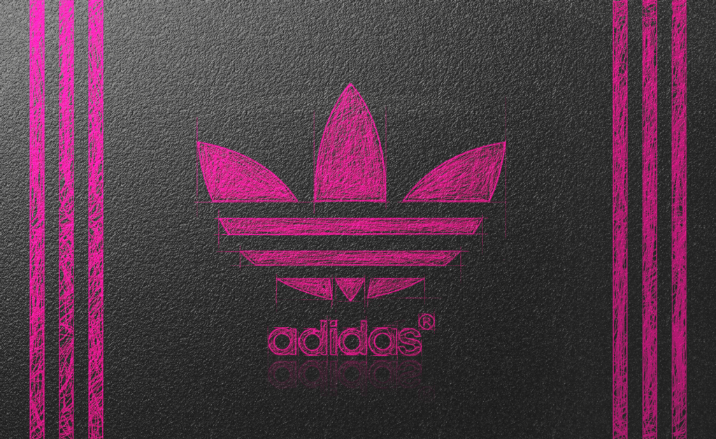 The gallery for    Pink Adidas Logo Wallpaper 1024x628