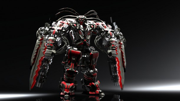Awesome HD Robot Wallpapers Backgrounds For Download 610x343