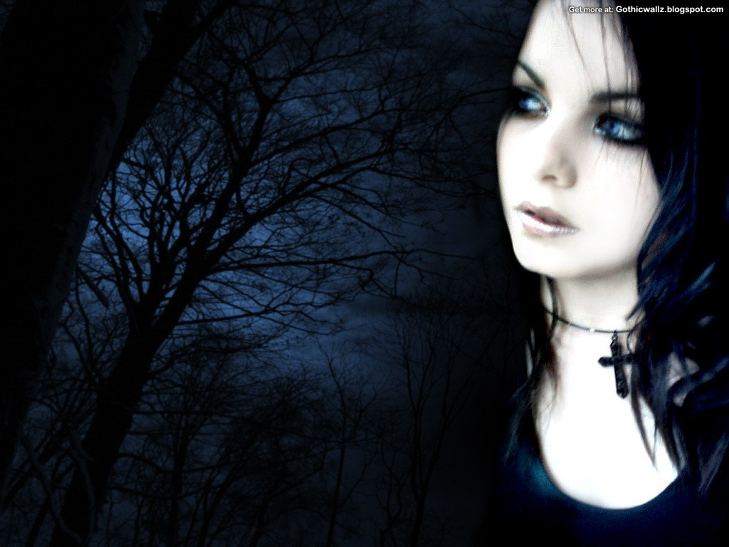 Goth Black   Dark Gothic Wallpapers   FREE Gothic 1024x768