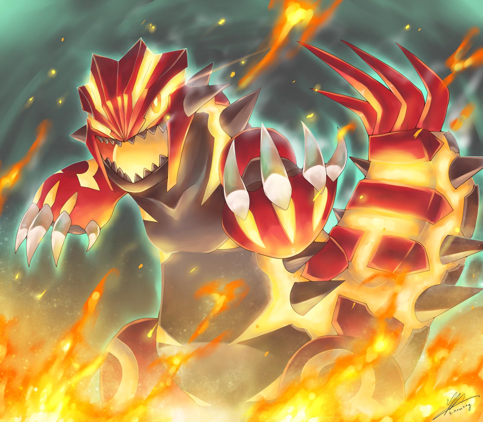 50 Pokemon Primal Groudon Wallpaper On Wallpapersafari