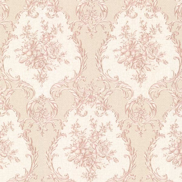 Viola Pink Damask Wallpaper Bolt   Traditional   Wallpaper   by 600x600