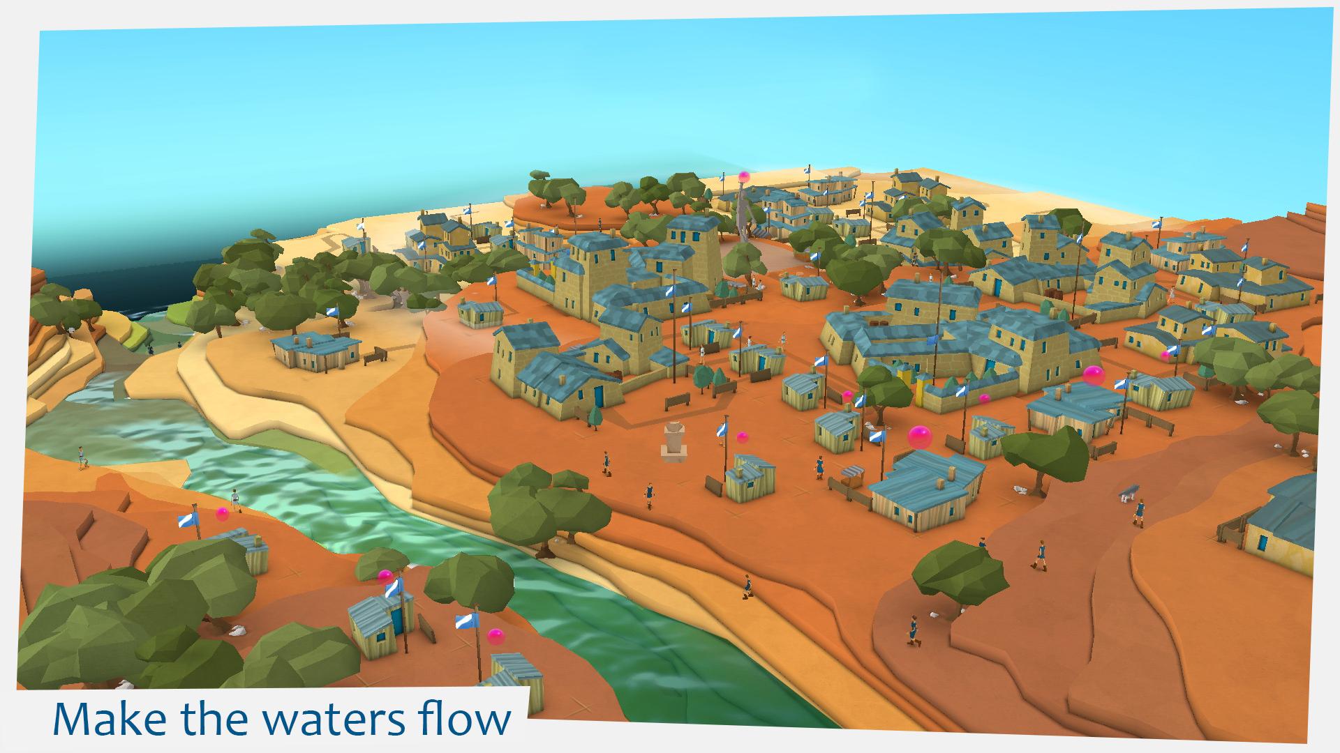 Make the waters flow image   Godus   Indie DB 1920x1080