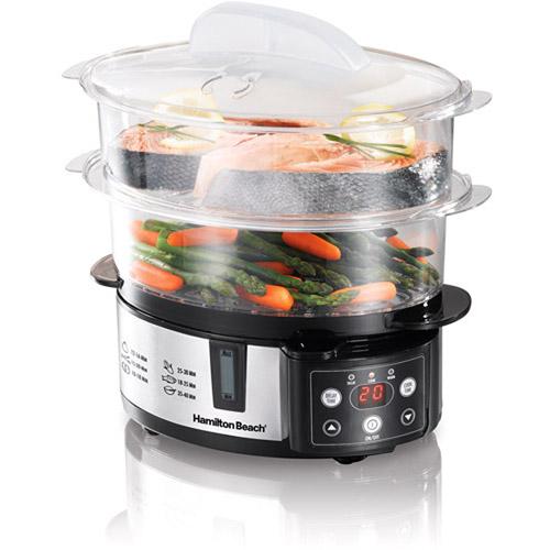Hamilton Beach 37537 Versatile Digital Food Steamer   Walmartcom 500x500