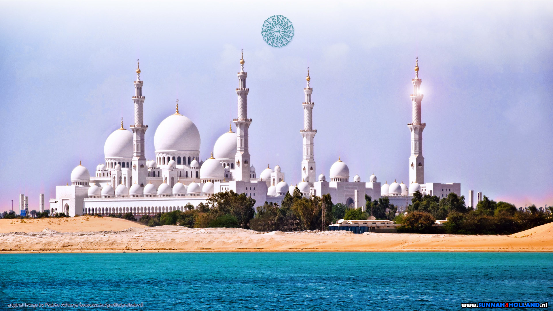 фотообои мечеть на телефон прорисовываем большую