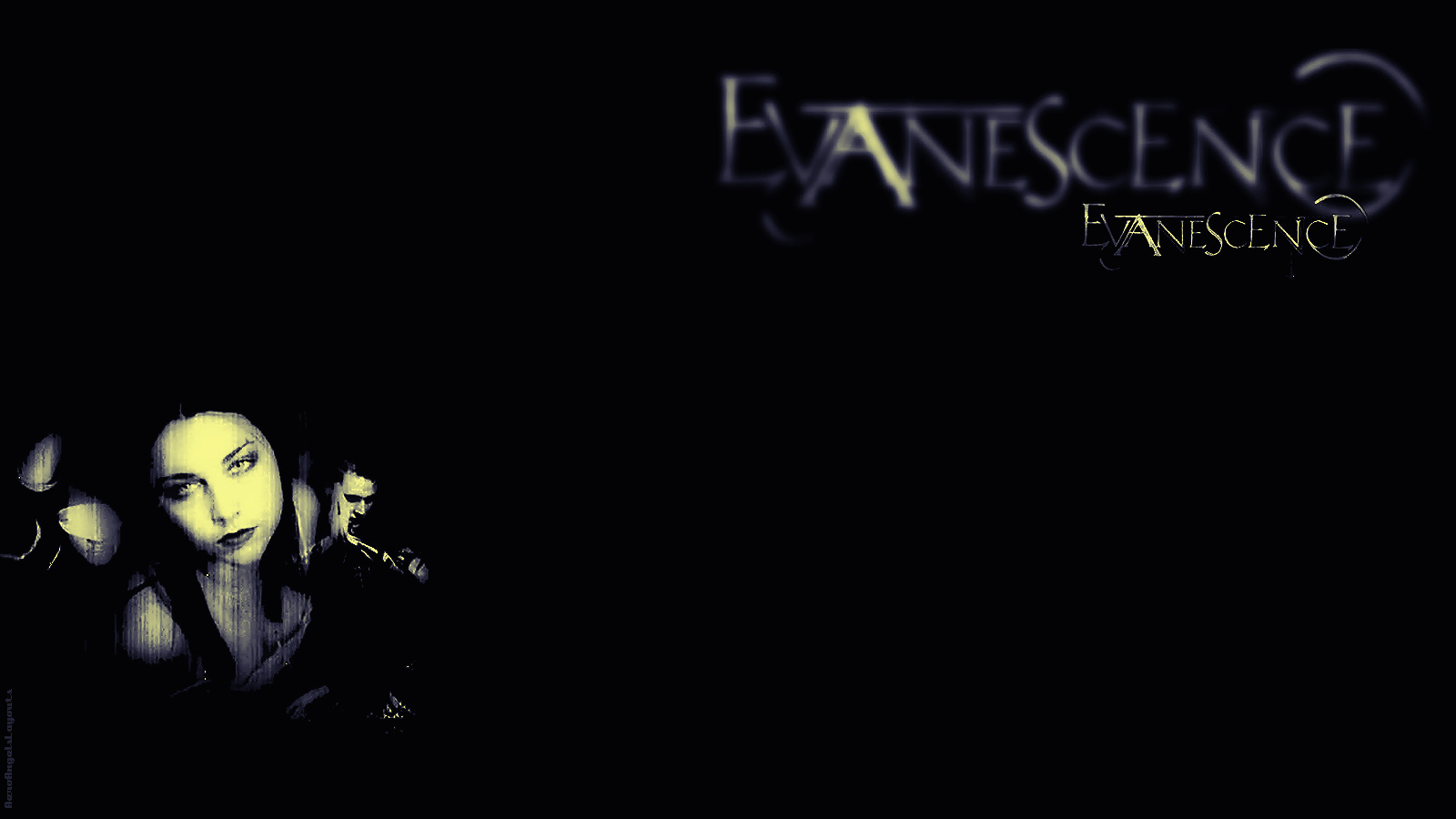 Evanescence Logo Wallpaper submited images 1600x900