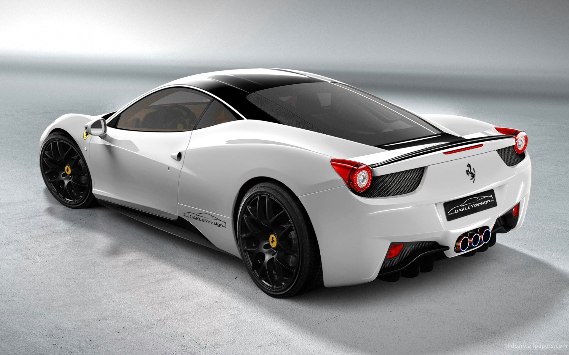 Oakley Design Ferrari 458 Italia 2 Wallpaper HD Car Wallpapers 1920x1200